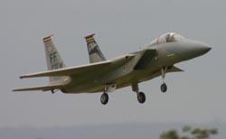 F-15 Eagle on Final